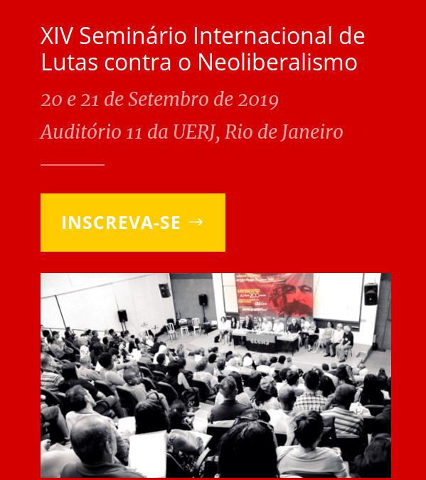 XIV Seminário Página